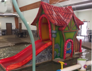 water slide refurbish